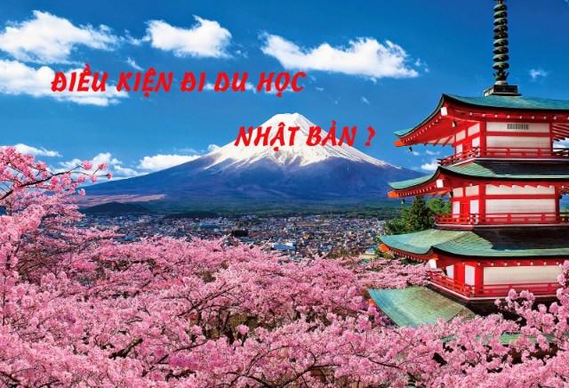 Điều kiện để đi du học Nhật Bản
