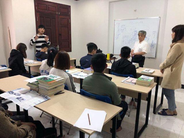 Khóa học tiếng Nhật tại công ty du học TH