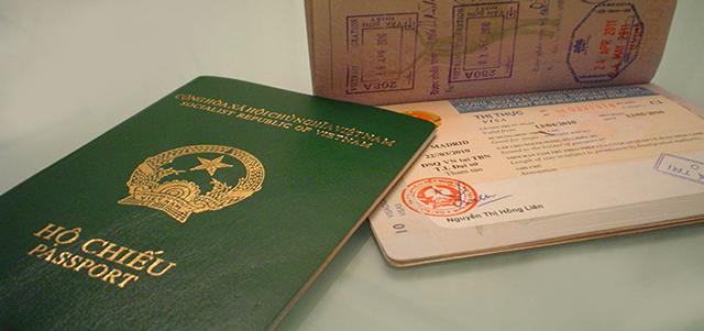 Phân biệt Visa và hộ chiếu