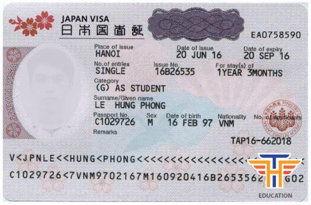 Visa du học sinh TH