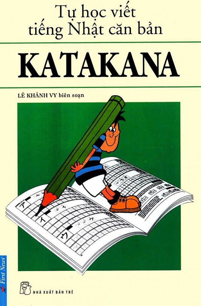 Sách học bảng chữ cái Hiragana và Katakana