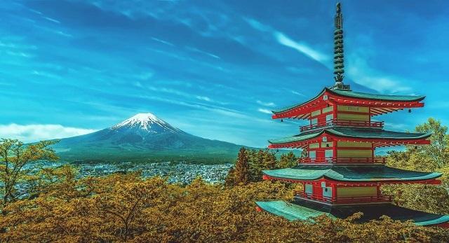 Núi Phú Sĩ – biểu tượng của xứ sở Phù Tang.