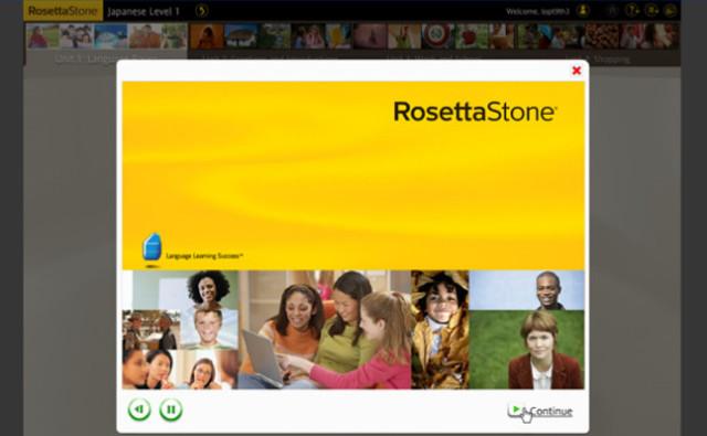 Phần mềm học tiếng nhật trên máy tính Rosetta Stone Japanese