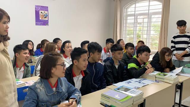 Lớp học tiếng Nhật tại trung tâm du học TH